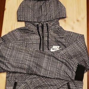 Nike Hooded Full Zip Windbreaker M